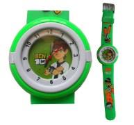 Ben 10 Kids Green Watch
