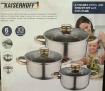 Kaiserhoff Cook and Serve Bowls