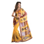 Adah Fashions -564-4011-Cotton   Net FabricDesigner Saree
