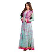 Adah Fashions-555-214A-Light Sea Green Color  Designer Salwar Kameez
