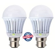 Combo of 3W & 7W Led Bulbs(Set of 2 Bulbs)