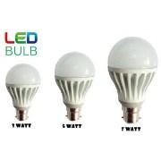 Combo of 3W, 5W, 7W Led Bulbs(Set of 3 Bulbs)