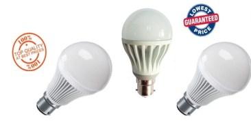 3W LED Bulb (Set Of 3 Pcs.)