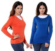 Casa Nova casa_c2_76 Pack of 2 Comfy Sweater for Women