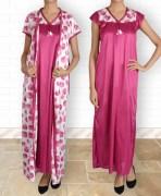 Satin Nightwear Combo of 2pc