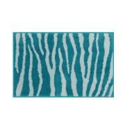 Skin Anti Skid Cotton Bathmat Teal