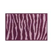 Skin Anti Skid Cotton Bathmat Lilac