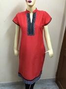 Stylish Cotton Kurti For Women - AE23
