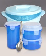 Bluplast Time 4 Meal + Savour Insulated Casserole Combo