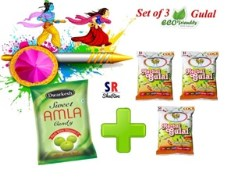 Amla Candy and Herbal Gulal-Pack of 3