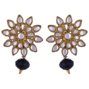 Kshitij Jewels-KJM 111-Classic Gold Plated Stud Earring