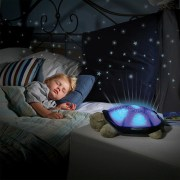 Qubeplex Turtle Night Light with Star Constellation