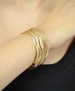 Beautiful Gold Plating Bangles Set of 4