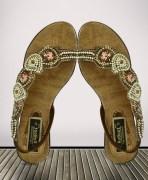 Reboot Multicolor Embellished Sandals