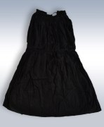 Black Cotton Dress For Girls