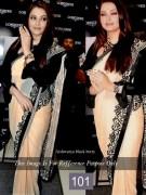 aishwarya blackberry saree