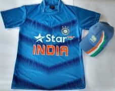 United Shoppe 9004 India Jersey & Cap Combo