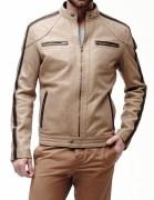 SkinOutfit Men's Leather Jacket - SO00153$P