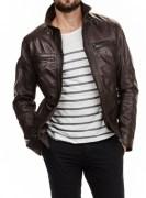 SkinOutfit Men's Leather Jacket - SO00161$P