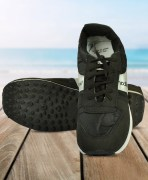 Unistar Black Sport Shoes For Men