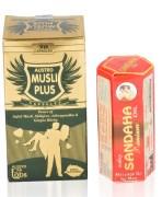 Musli Plus Capsule & Sandaha Oil Combo