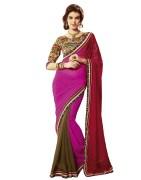 Shoppingover 1504KC Gorgeous Designer Saree