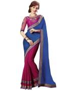 Shoppingover 1506KC Gorgeous Designer Saree