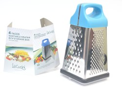 Lacuzini GEP-CRY-010 Square Grater 1 Piece
