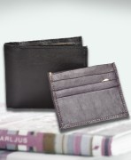 Leather Wallet & Card Holder Combo