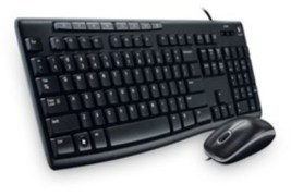Logitech Keyboard and Mouse Combo MK200 USB 2.0