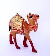 Rajasthan Art Wood Camel 600