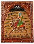 Rajasthan Art Hand Painted Key Holder 640