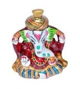 Rajasthan Art Meenakari Metal Pagdi Ganesh