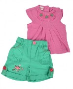 Nautinati Top & Shorts Set