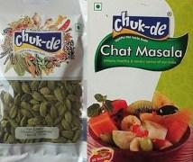 Chuk De S009 Hari Elaichi And Chat Masala