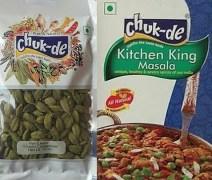 Chuk De S010 Hari Elaichi And Kitchen King Masala