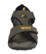 Sparx Stylish Olive Sandals