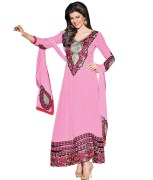 Craze N Demand Faux Georgette Free Size Salwar Suit