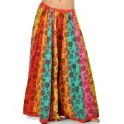 Little India 221 Jaipuri Floral Design Pure Cotton Lehnga Skirt