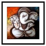 Make Over Lord Ganpati Art Painting