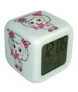 Everything Imported Electronic Cute Baby Alarm Clock