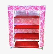 Pindia Storage Cabinet & Shoe Rack Wardrobe