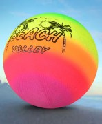 Multicolor Beach Volleyball