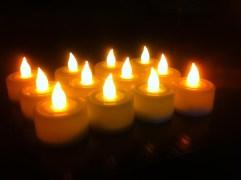 Kytes Tealight LED Diyas Set Of 12