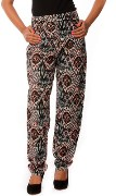 House Of Tantrums 2014205A Hot Printed Black Pants