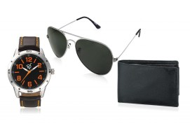 Rico Sordi fashion Leather watch,Sunglass & Wallet RSD41_WSGW