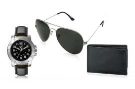 Rico Sordi fashion Leather watch,Sunglass & Wallet RSD43_WSGW