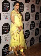 Clickingo Asin Lemon Bollywood Anarkali Dress