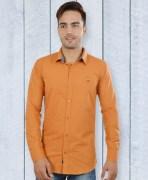 U.S. Polo Assn. Mustard Yellow Cotton Shirt