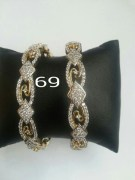 Disha Diamonds 69 Golden Bangles